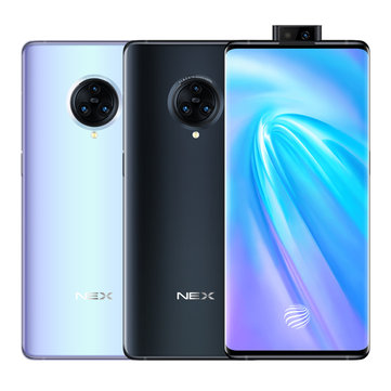 VIVO NEX 3 4G Version 6.89 inch Super AMOLED 64MP Triple Rear Camera NFC 8GB 128GB Snapdragon 855 Plus Octa core 4G Smartphone Smartphones from Mobile Phones & Accessories on banggood.com