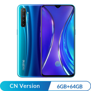 Realme X2 CN Version 6.4 inch FHD+ Super AMOLED NFC 4000mAh 64MP Quad Rear Cameras 6GB RAM 64GB ROM Snapdragon 730G Octa Core 2.2GHz 4G Smartphone Smartphones from Mobile Phones & Accessories on banggood.com