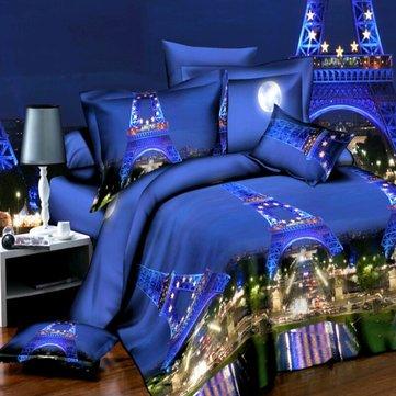 4pcs 3d duvet covers quilt cover set bedding sets pillow cover queen king size bed