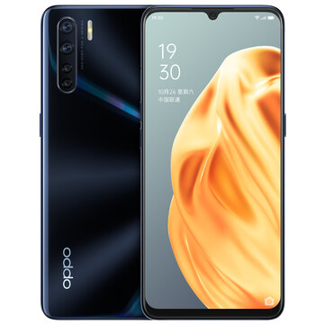 OPPO A91 CN Version 6.4 inch FHD+ Android 9.0 4000mAh VOOC 3.0 48MP Quad Rear Cameras 8GB 128GB Helio P70 Octa Core 4G SmartphoneSmartphonesfromMobile Phones & Accessorieson banggood.com