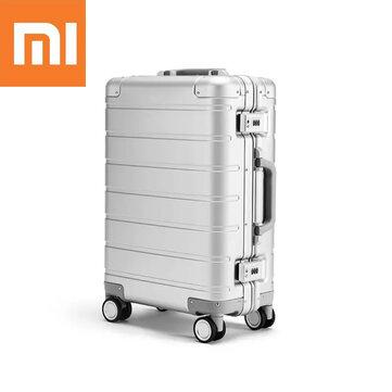 Original Xiaomi LXX09RM 20inch Travel Suitcase Men Women Business Trunk 31L Aluminum Alloy TSA Lock Spinner Wheel Carry On Luggage Case