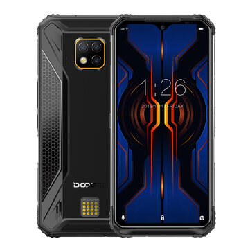 DOOGEE S95 Pro Super Bundle Global Bands IP68 Waterproof 6.3 inch FHD+ NFC Android 9.0 5150mAh 48MP AI Triple Rear Cameras 8GB RAM 128GB ROM Helio P90 Octa Core 4G Smartphone