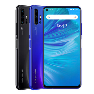 Umidigi F2 Global Bands 6.53 inch Android 10 48MP Quad Rear Camera NFC 5150mAh 6GB 128GB Helio P70 Octa Core 4G Smartphone Smartphones from Mobile Phones & Accessories on banggood.com