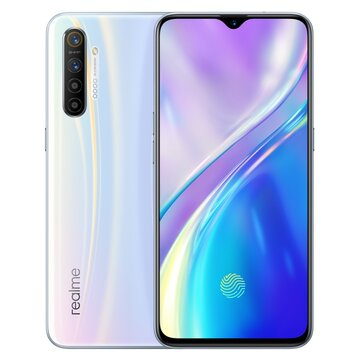 Realme XT 6.4 inch FHD+ In-Display Fingerprint 4000mAh 64MP AI Quad Cameras 4GB RAM 64GB ROM Snapdragon 712 Octa Core 2.3GHz 4G Smartphone Smartphones from Mobile Phones & Accessories on banggood.com