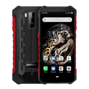 Ulefone Armor X5 5.5 Inch NFC IP68 IP69K Waterproof 3GB 32GB 5000mAh MT6763 Octa core 4G SmartphoneSmartphonesfromMobile Phones & Accessorieson banggood.com