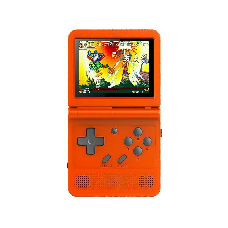 ANBERNIC S-100 64GB 10000 Games 3.0 inch IPS HD Screen Handheld Game Console Support PS1 CPS NEOGEO SFC MD TV Output
