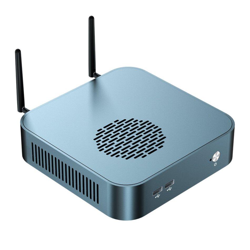 T-BAO TBOOK MN48H AMD Ryzen 7 4800H 32GB DDR4-3200 1TB M.2 NVME SSD Octa Core 2.9GHz to 4.2GHz Desktop PC Mini Computer WiFi 6 BT5.1 Type-C