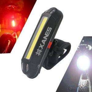 Στα 5.76€ από αποθήκη Κίνας | XANES 2 in 1 500LM Bicycle USB Rechargeable LED Bike Light Taillight Ultralight Warning Night