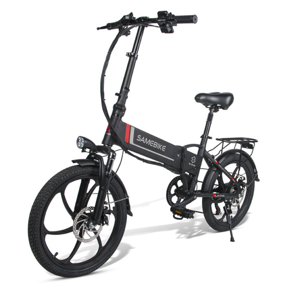 SAMEBIKE 20LVXD30 10.4Ah 48V 350W 20 in Folding Electric Bike 35km/h Top Speed 80km Mileage Max Load 120kg E-bike City Bike