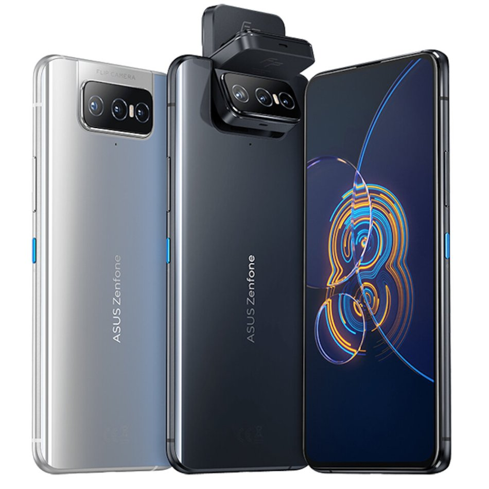 Original ASUS Zenfone 8 Flip Global Version NFC Snapdragon 888 Android 11 8GB 128GB 6.67'' 5000mAh 5G Smartphone