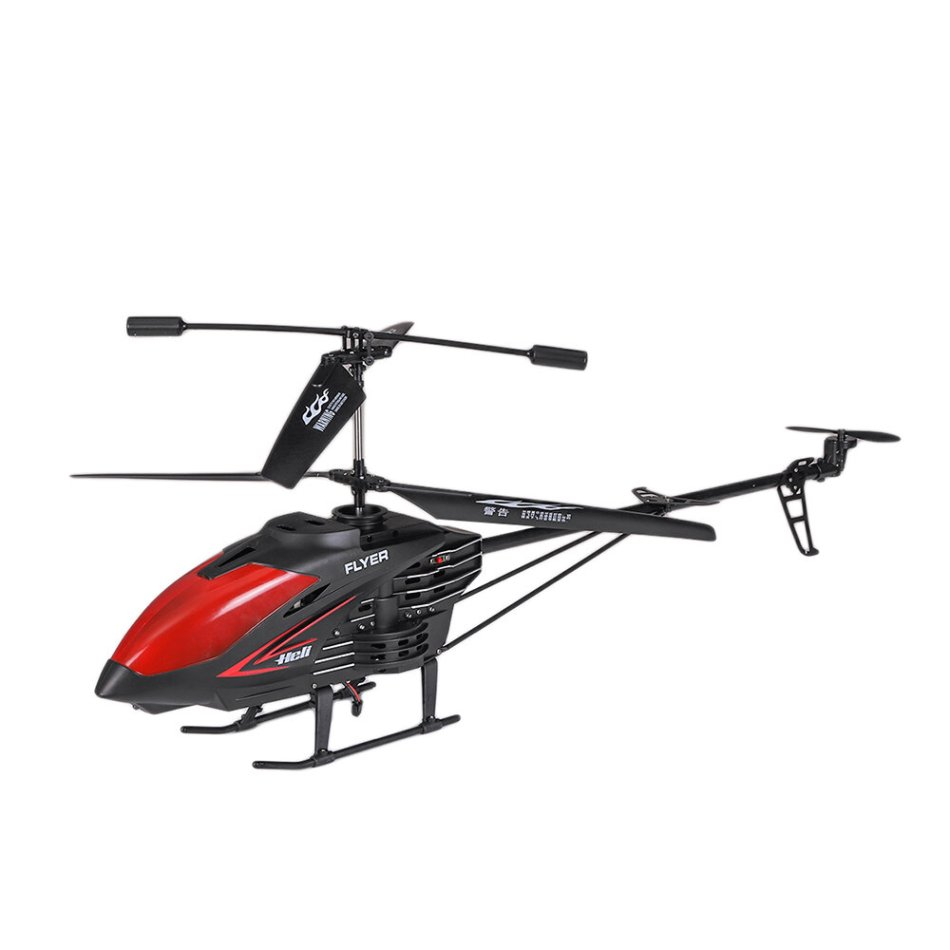 3.5CH 95CM USB Chargering Fall Resistant Hover Function Led Light Automatic Power-off Protection Alloy Remote Control Helicopter RTF