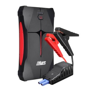 Αποθήκη Τσεχίας | Jump starter ΣΕ ΤΙΜΗ ΧΑΡΙΣΜΑ. Μην το χάσετε | IMars Portable Car Jump Starter 1000A 13800mAh Powerbank Emergency Battery Booster Waterproof with LED Flashlight USB Port