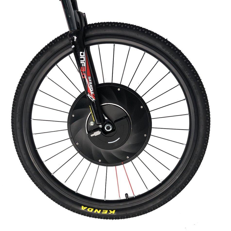 iMortor S1 700C V Brake 3.2Ah 36V 240W Brushless Motor Intelligence Bicycle Wheel APP Control IP65 35km/h Top Speed 30km Mileage