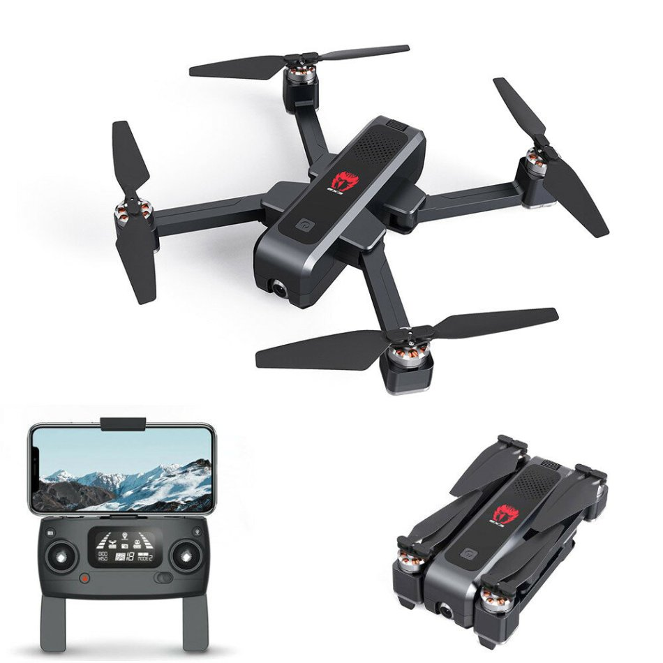 Eachine EX3 GPS 5G WiFi FPV with 2K Camera Optical Flow OLED Switchable Remote Brushless Foldable RC Drone Quadcopter RTF