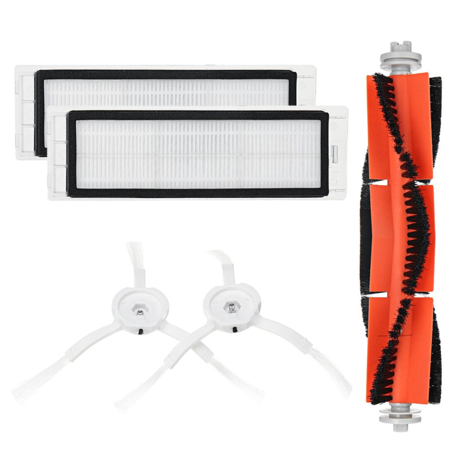 Main Brush Filters Side Brushes Accessories For XIAOMI MI Robot Vacuum Home Applicance Part