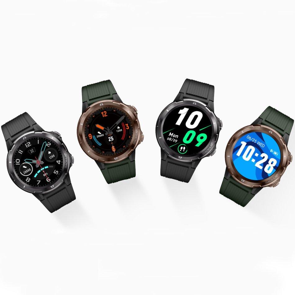 UMIDIGI Uwatch GT BT5.0 47MM Wristband 5ATM Waterproof 12 Sport Modes 15 Days Daily Use Smart Watch