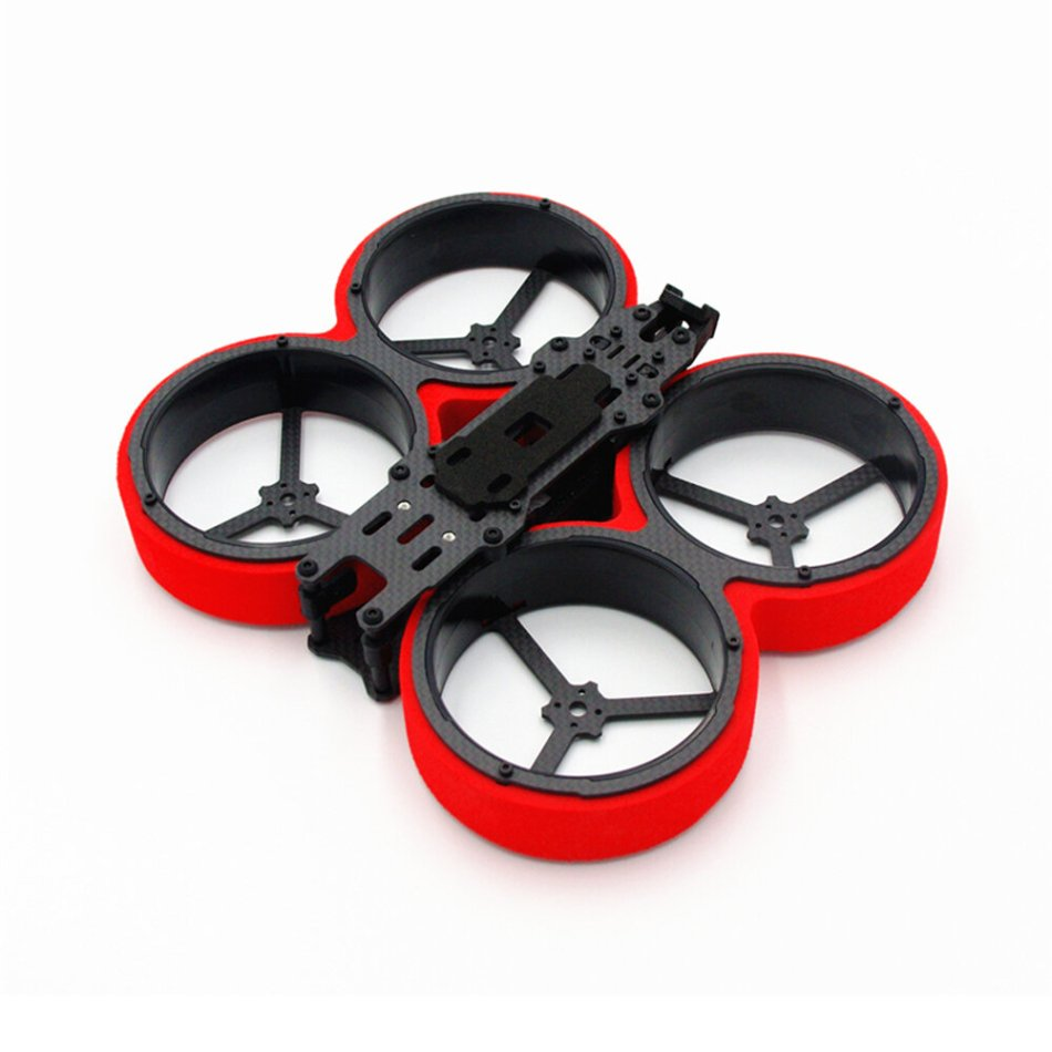 Reptile MetalBeetle 154mm Wheelbase 3 Inch Duct Frame Kit for CineWhoop RC Drone FPV Racing