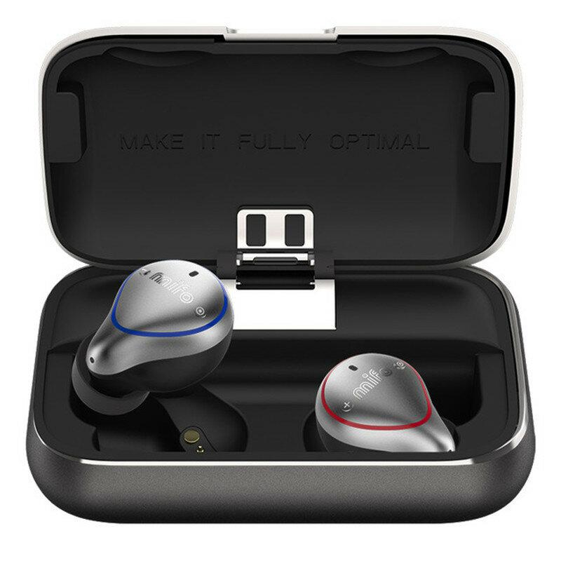 [True Wireless] Mifo O5 bluetooth 5.0 Balance Armature Drive Unit + Dynamic Drive Mini Binaural In-ear Sports Waterproof Stereo Hifi Earphone for Phones