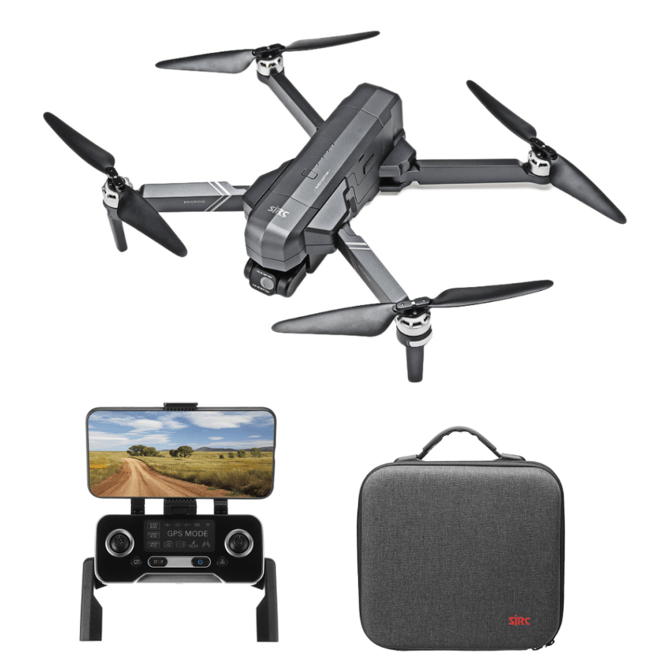 SJRC F11 4K Pro 5G WIFI 1.2KM FPV GPS With 4K HD Camera 2-Axis Electronic Stabilization Gimbal Brushless Foldable RC Drone Quadcopter RTF