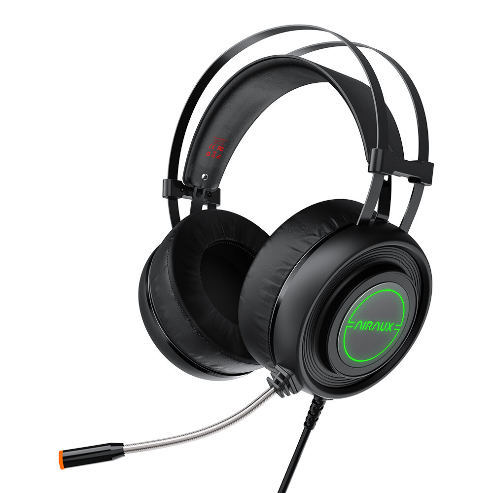 BlitzWolf AirAux AA GB1 Gaming Headphone USB 7.1 Surround Sound RGB LED Light Stereo Flexible Computer Gaming Headset with Mic