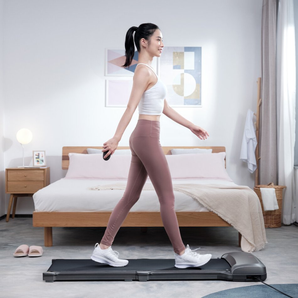 [EU Direct] WalkingPad C1 Folding Treadmill Manual/Automatic Modes Walking Pad Non-slip Sports Fitness Walking Machine with EU Plug