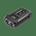 NITECORE TINI 2 OSRAM P8 500LM Dual Light Mini LED Keychain Flashlight OLED Display USB Rechargeable Portable EDC Mini Torch