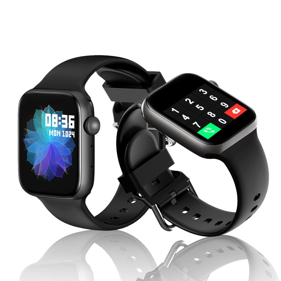 [bluetooth Calling] Bakeey S3 1.54 inch Touch Screen Heart Rate Blood Pressure Oxygen Monitor 9 Sports Modes IP67 Waterproof Smart Watch