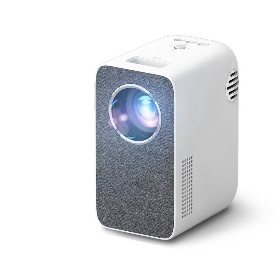 Rigal Mini WIFI LED Projector RD855 1080P Supported 3500 Lumens Home Theater Beamer Multiscreen Phone Same Screen 3D Smart 2000:1 Contrast Ratio