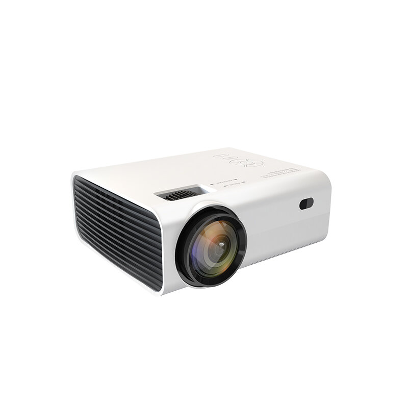 POWERFUL X36 Mini LED Projector 1080P Native Full HD LCD Wireless Phone Same Screen 1000:1 Contrast 16:9 for Home Entertainment Outdoor Movie