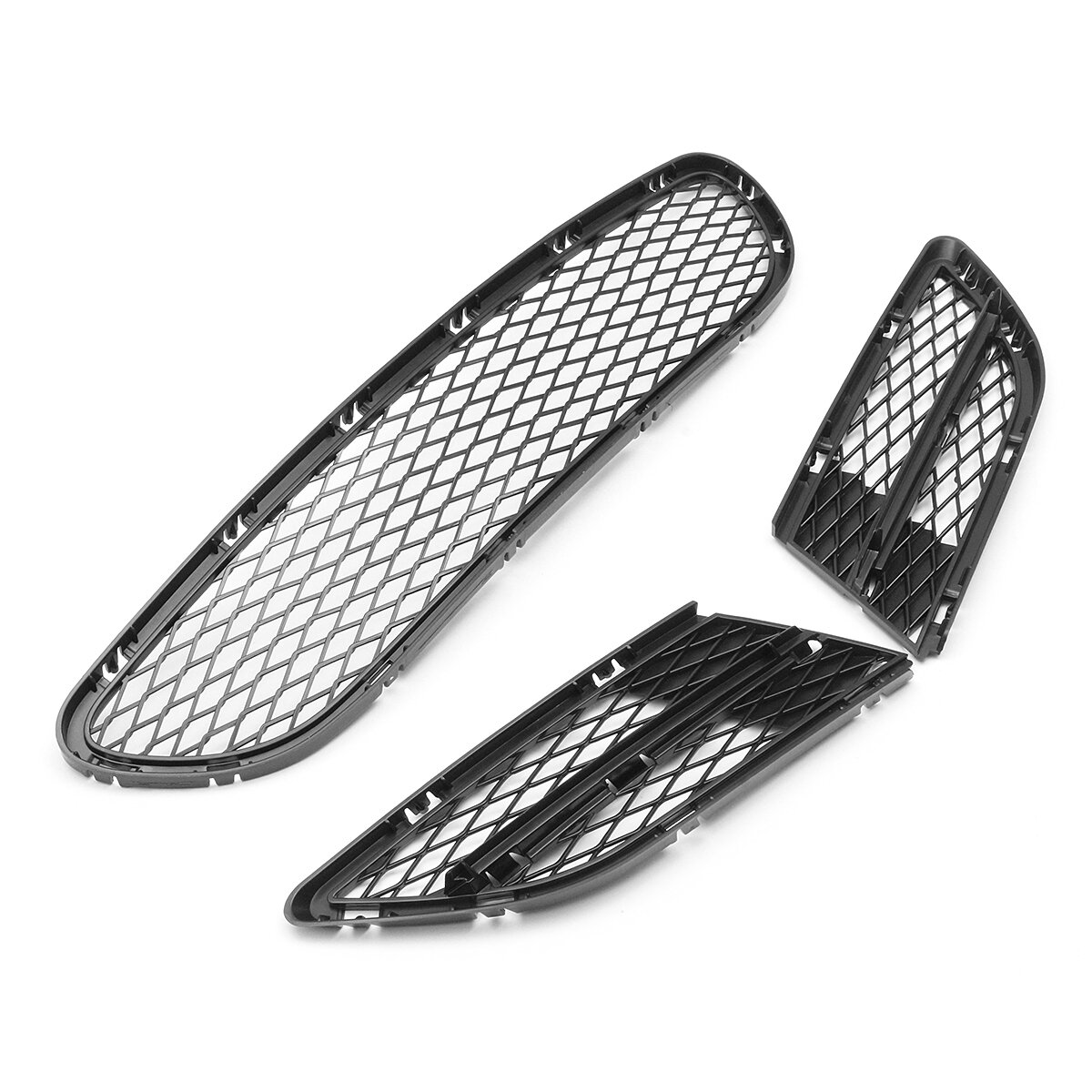 Front Bumper Vents Front Lower Grille Grill Net For Bmw 3