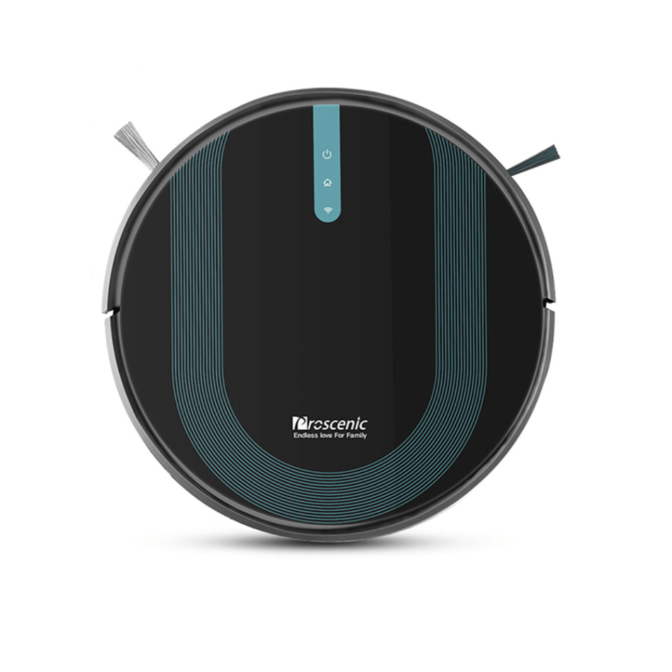Proscenic 850T Smart Robot Cleaner 3000Pa Suction Three Cleaning Modes 500ml Dust Collector 300ml Electric Water Tank Alexa Google Home App Control