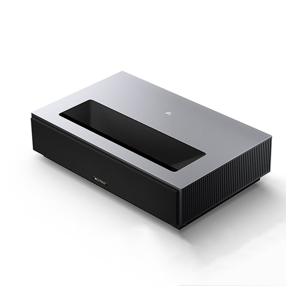 FENGMI 4K MAX Laser Projector L406FCN FEGNMI OS 4500ANSI Ultra Short Throw DTS Virtual X Sound Smart Android WIFI Bluetooth Intelligent Temperature Control Laser TV Home Cinema Theater