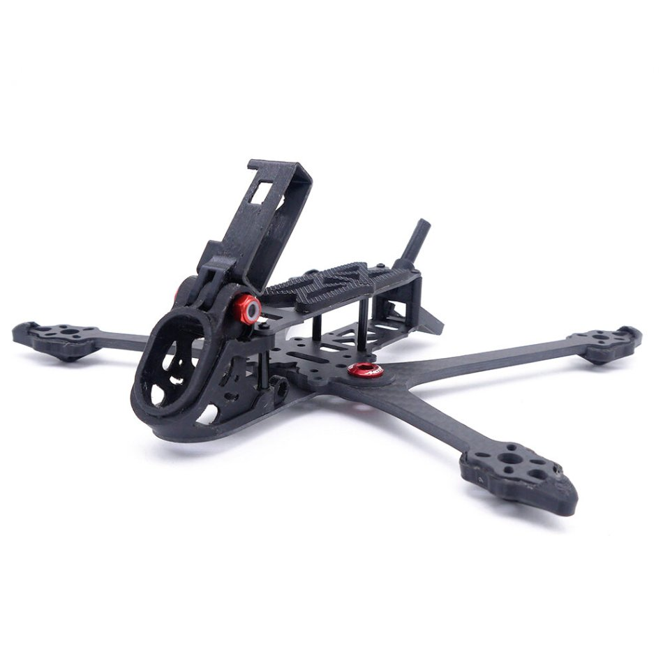 FonsterFpv Rex 210mm 5 Inch Wheelbase 4mm Arm Carbon Fiber Freestyle Frame Kit Support VISTA Air Unit for RC Drone FPV Racing
