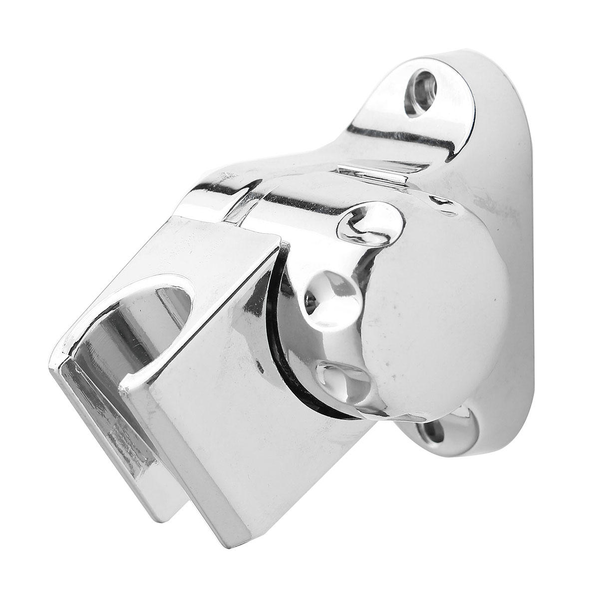 Bathroom Handheld Shower Head Holder Adjustable Wall Mount Base Bracket With Screws