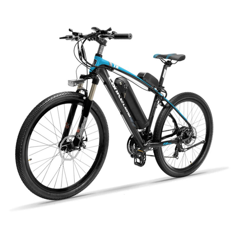 LANKELEISI T8 13Ah 48V 400W Folding Moped Bicycle 26Inch 100Km Mileage Max Load 120kg With EU Plug Electric Bike