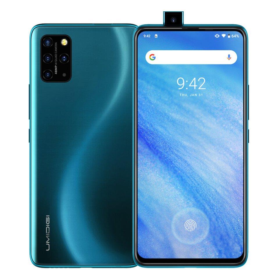 UMIDIGI S5 Pro Global Bands 6.39 inch FHD+ NFC Android 10 4680mAh 48MP Super Matrix Quad Camera 6GB 256GB Helio G90T 4G Smartphone