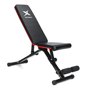 Στα 67€ από αποθήκη Κίνας | GEEMAX Adjustable Heavy Duty Folding Sit Up Benches Abdominal Exercise Home Gym Fitness Equipment