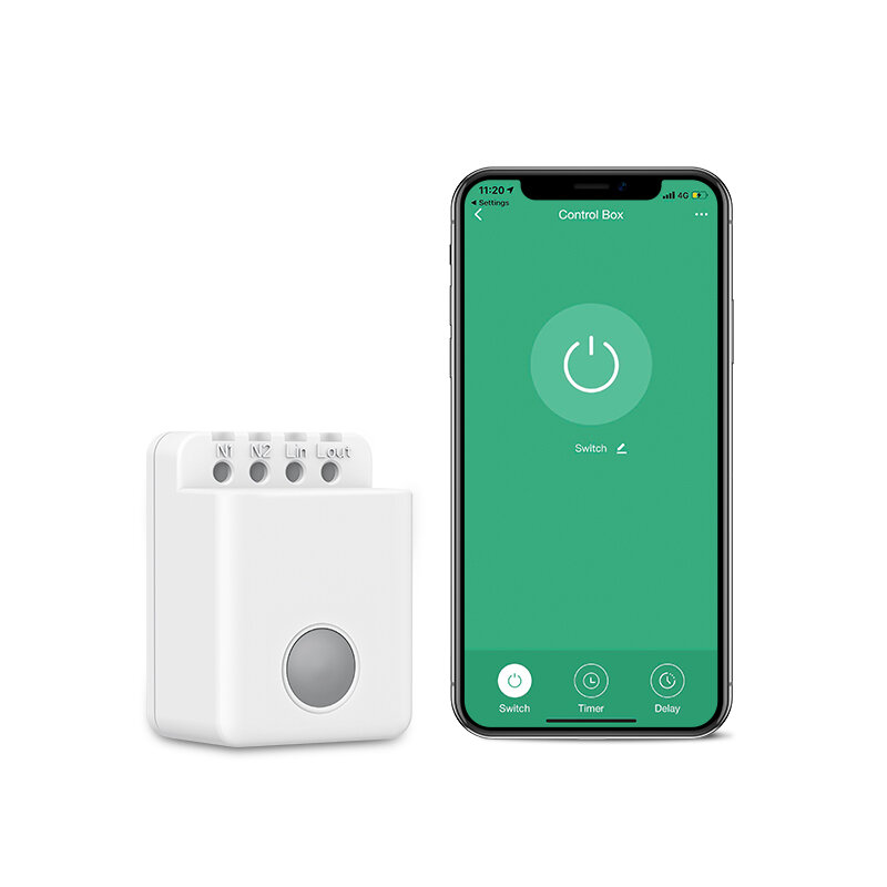 BroadLink BestCon MCB1 Smart Home Remote Control WIFI Switch Box Alexa Voice Control APP Remote Timing Wireless Switch