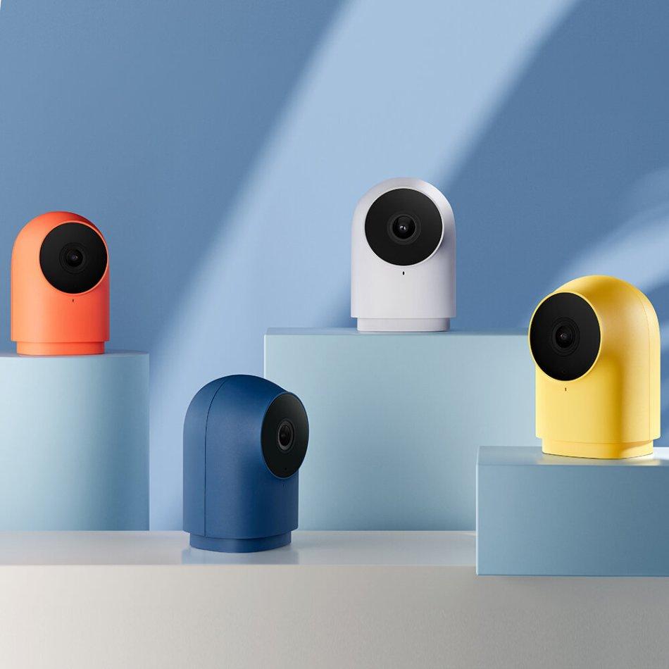 [HomeKit Version] Aqara G2H Zigbee 3.0 Gateway + Smart IP Camera 140° 1080P APP Remote Control Two-way Audio Home Security Monitor
