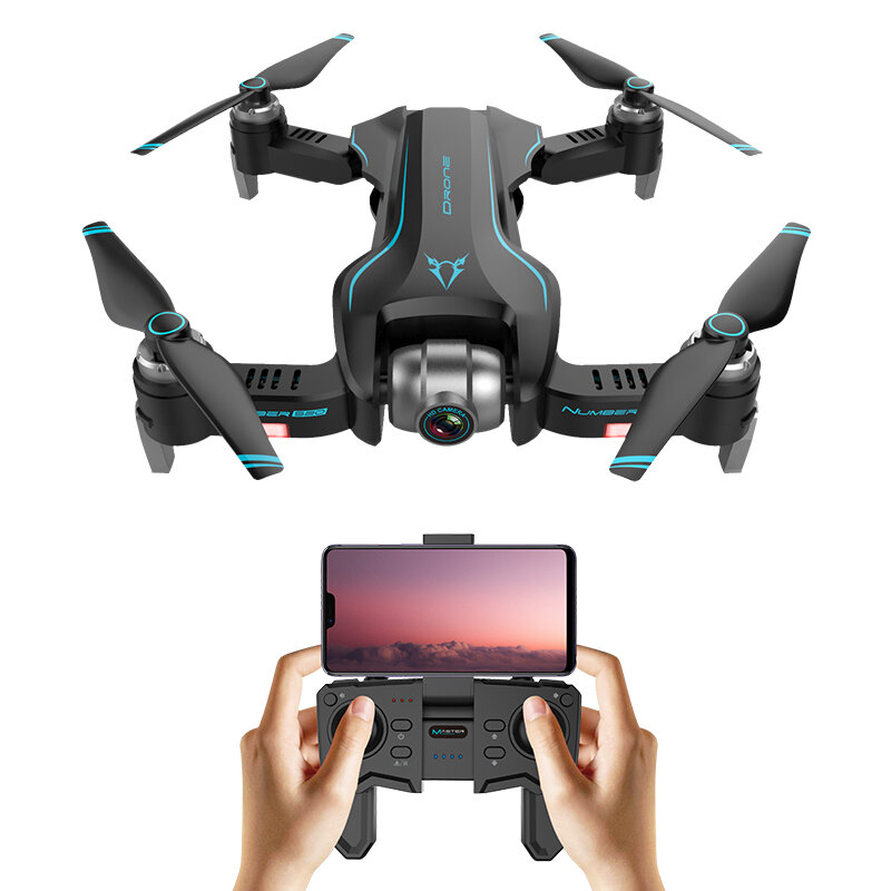 FUNSKY S20 Pro WIFI FPV With 4K HD Camera GPS Positioning Mode Intelligent Foldable RC Drone Quadcopter RTF