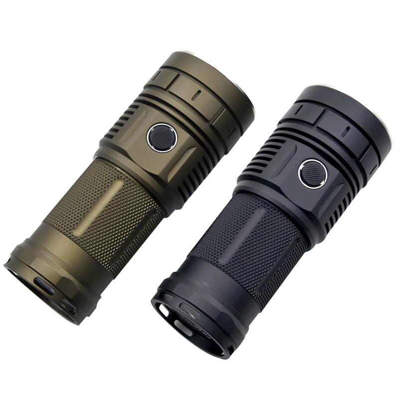 Haikelite HK04 4 x SST40 9000LM Anduril UI Super Bright Flashlight