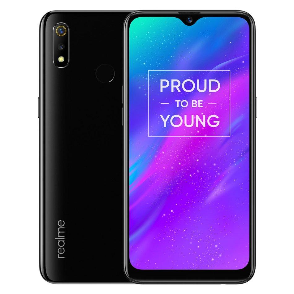 OPPO Realme 3 6.2 Inch HD+ Android 9.0 4230mAh 13MP AI Front Camera 4GB RAM 64GB ROM Helio P70 Octa Core 2.1GHz 4G Smartphone