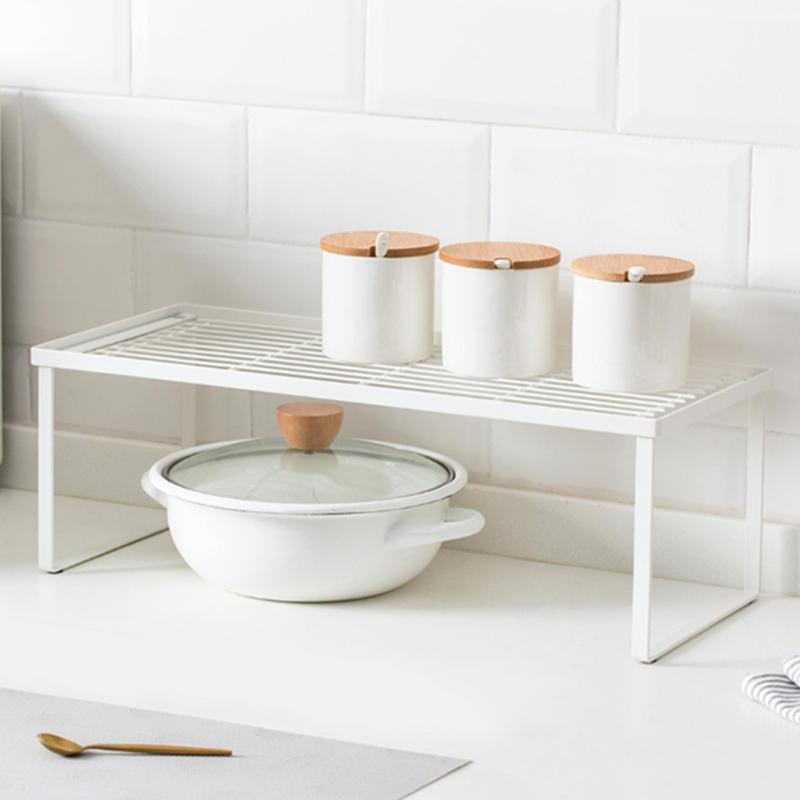 Jordan&Judy Layered Shelf Tiered Shelf Rack for Kitchen Bathroom Office from XIAOMI YOUPIN