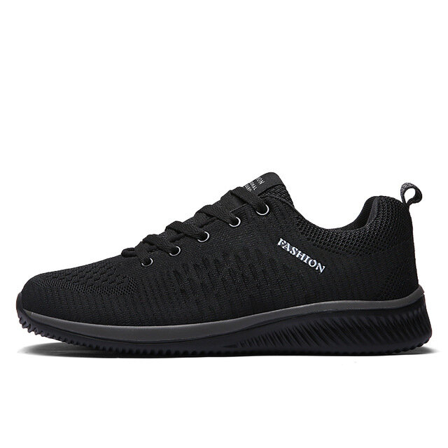 TENGOO Fly-D Men Sneakers Ultralight Soft Breathable Bouncy Shock Absorption Running Sneakers Sports Shoes