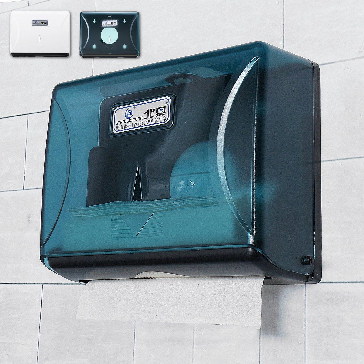 Toilet Hand Paper Towel Dispenser Tissue Holder Wall Mounted Shelf Bathroom Box Kit