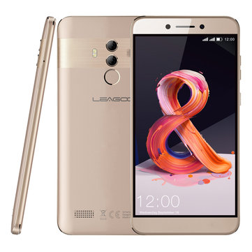 Leagoo T8s 5.5 Inch FHD Android 8.1 Face Unlock 4GB RAM 32GB ROM MTK6750T Octa-Core 4G Smartphone