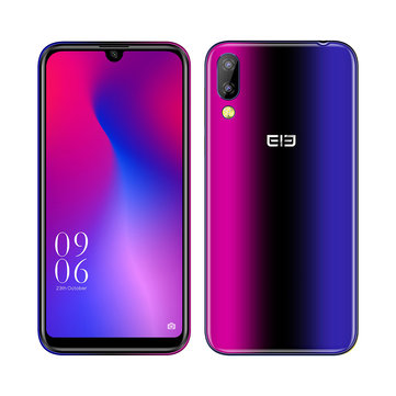 Elephone A6 mini 5.71 Inch HD+ Android 9.0 3180mAh Side Fingerprint 4GB 64GB MT6761 Quad Core 4G Smartphone