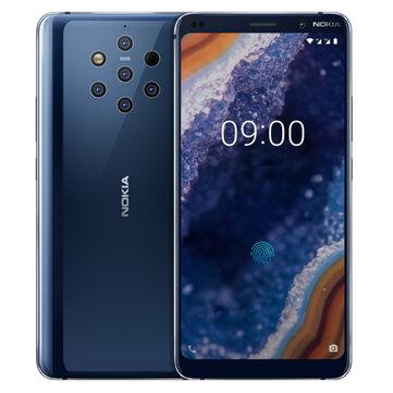 £752.36Nokia 9 PureView 5.99 inch 2K Display Five Rear Cameras NFC 6GB 128GB Snapdragon 845 Octa core 4G SmartphoneSmartphonesfromMobile Phones & Accessorieson banggood.com