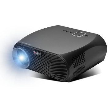 Vivibright GP100 Plus LED Projector LCD 3500Ansi Lumens 1280x800 Pixels 1080P Home Theater Projector