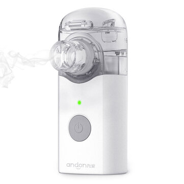 Andon VP-M3A Portable Nebulizer Silent Atomizer Handheld 0.2ml/min Rate Asthma Respirator Humidifier For Children and Adult Air Purifier